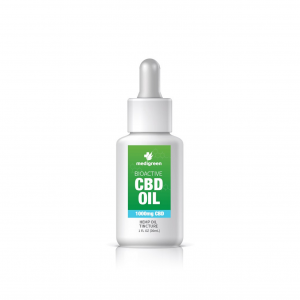 1 x MediGreen Bioactive CBD Hemp Oil Tincture – 1000mg CBD (30ml)