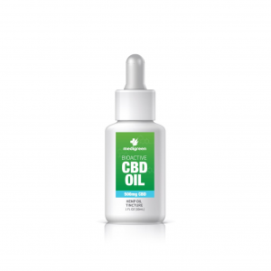 1 x MediGreen Bioactive CBD Hemp Oil Tincture – 500mg CBD (30ml)
